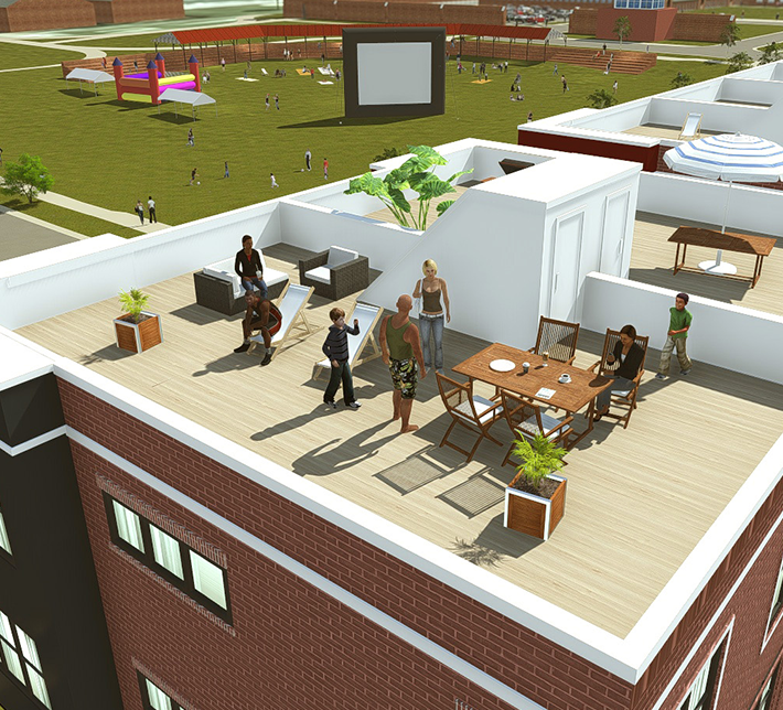 Liberty-home-Townhomes-Roof-2
