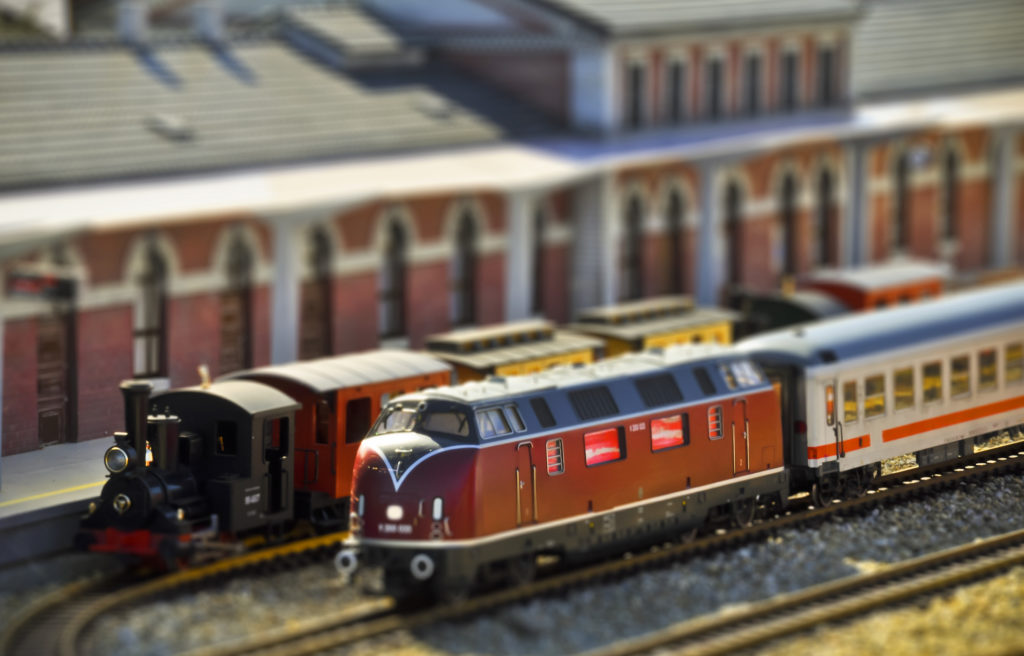 Trains on display - things to do in Lorton