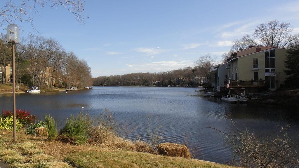 Lake Anne in Reston