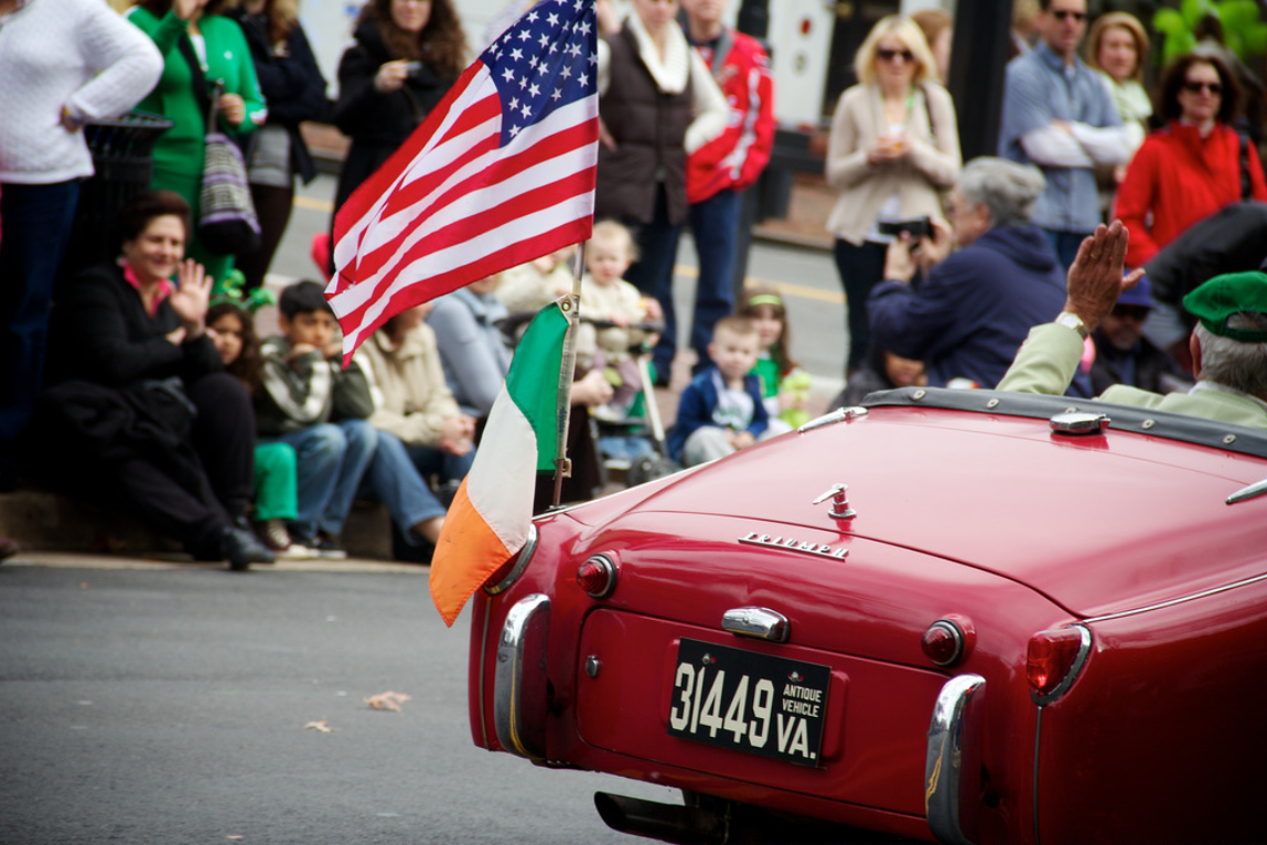 Things to do around Lorton March 2018 - St. Patrick's Day Parade in Alexandria
