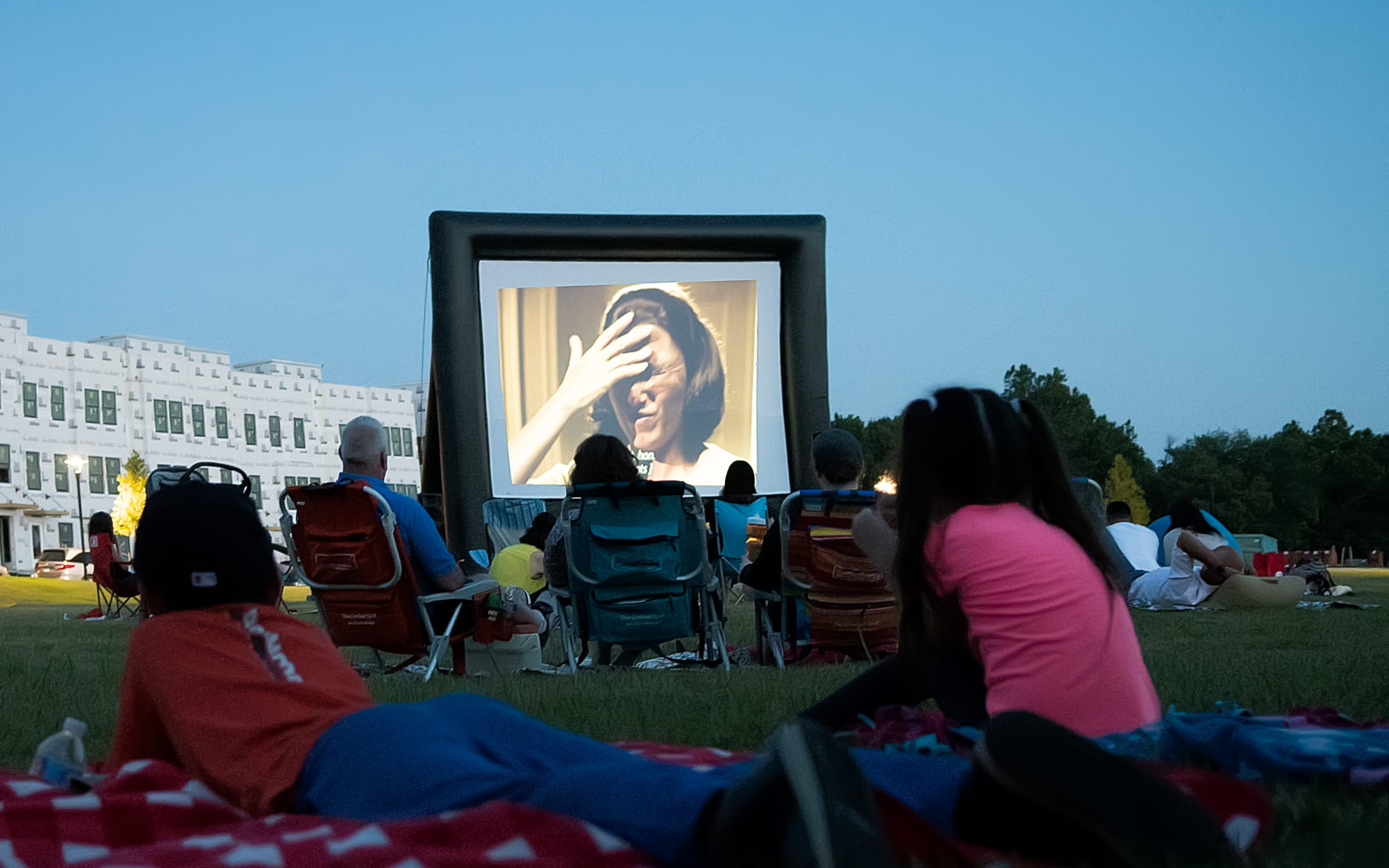 outdoor Movie Night at the Liberty Green