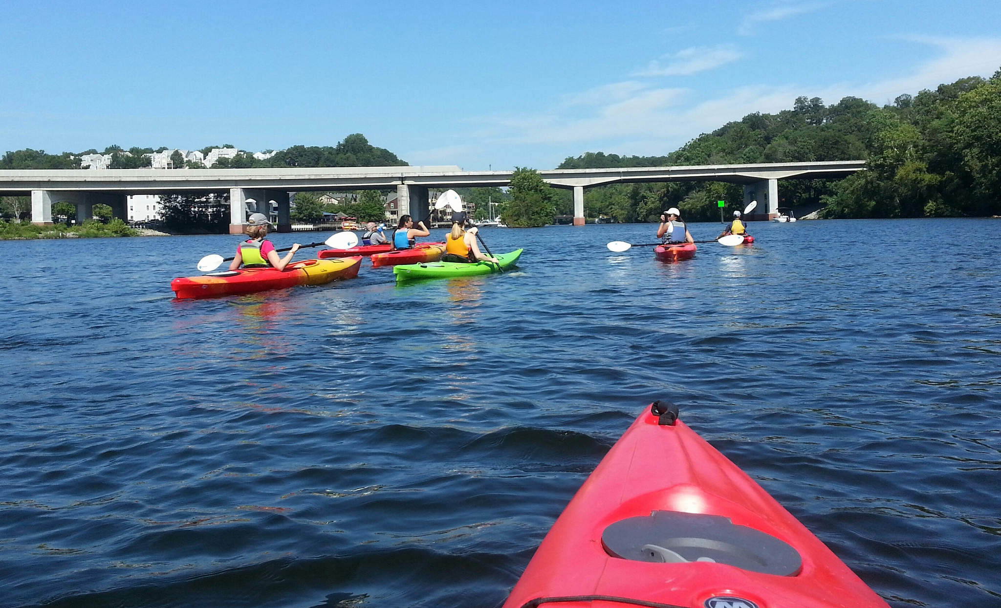 Kayaking Occoquan