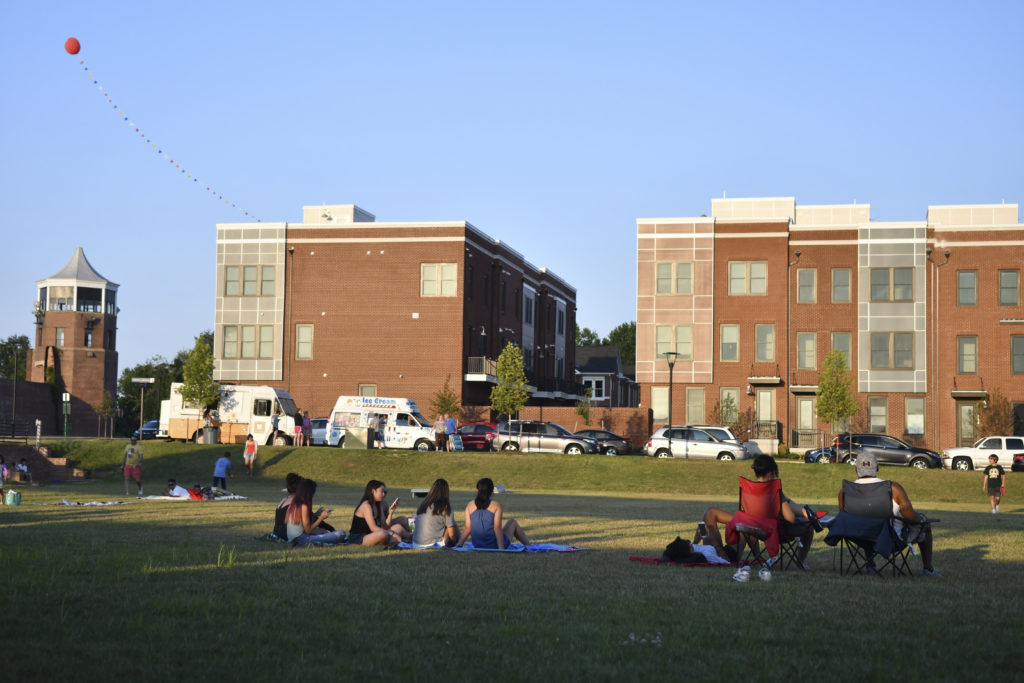 Visit the Liberty Green For Movie Nights - Things To Do Around Lorton
