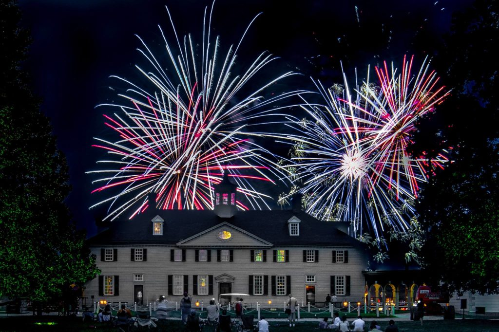Fireworks at Mount Vernon - Things To Do Around Lorton